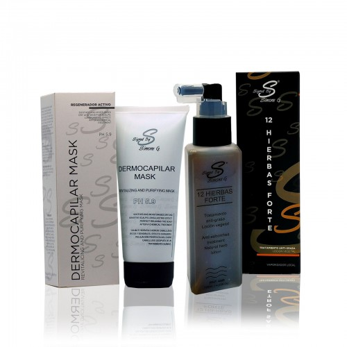 Pack mascarilla + 12 hierbas forte
